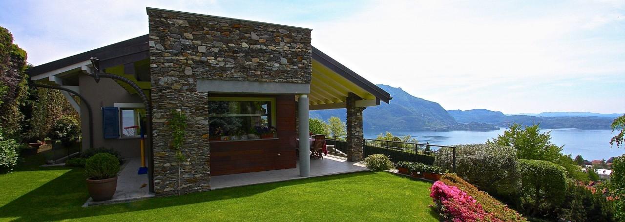 Agenzia ag immobiliare lago maggiore verbania ville for Case con grandi cucine in vendita