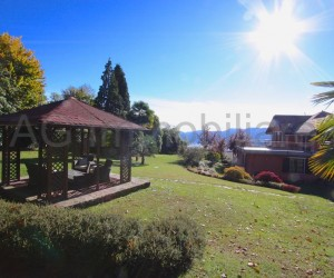 Verbania Hillyside renewed villa with garden and lake view - Ref: 186