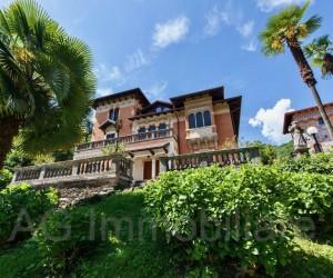 Stresa villa storica con bellissimo parco - Rif: 186